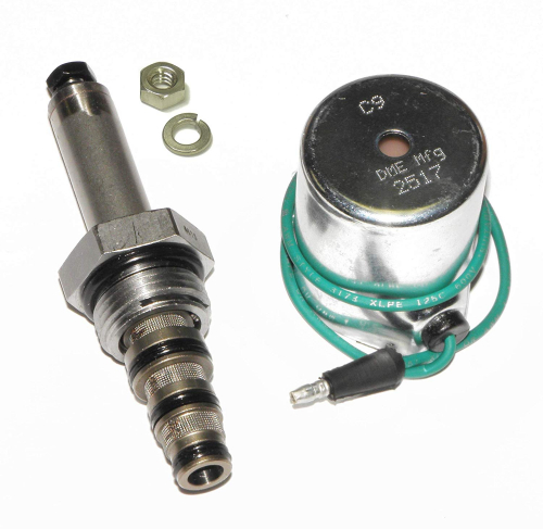 DME Manufacturing 15358, Meyer C Valve Assembly, Valve, 15381, Coil, 15430, for E47, E57, E60 Pumps, Aftermkt, Optional 18-8 Stainless Steel Nut Included