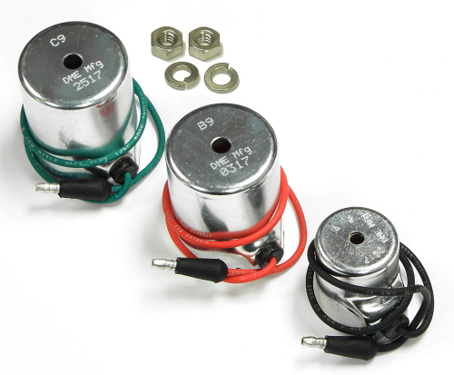 DME Manufacturing Meyer Snow Plow Coil Set: A12 15392; B9 15382; C9 15430 Aftermkt, Optional 18-8 Stainless Steel Nuts Included