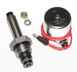 DME Mfg 15697, Meyer B Valve Assembly, Valve, 15698, Coil, 15382, for E47, E57, E60 Pumps, Brand New Aftermkt, Optional 18-8 Stainless Steel Nut Included